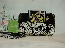 Vera Bradley Smartphone Wristlet in Baroque 100% Cotton Floral $43