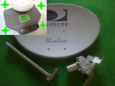 DirecTV HD Slimline SWM Dish & Power SL3 Green Mobile RV Portable Satellite DTV