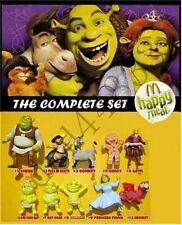 2007 McDonalds Shrek the 3rd MIP Complete Set - Lot of 10, Boys & Girls, 3+