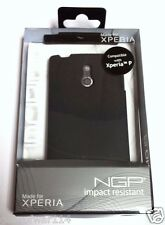 Incipio SE-130 NGP Impact Resistant Case for Sony Xperia P - BLACK - NEW SEALED