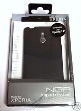 Incipio SE-130 NGP Impact Resistant Case for Sony Xperia P - BLACK - NEW SEALED