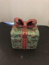 Fitz And Floyd Christmas Trinket Box