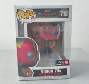 Funko POP! Marvel Wanda Vision 718# Vision 70s Exclusive Vinyl Action Figures