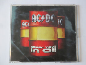 AC/DC - COVER YOU IN OIL 3 TRACK CD SINGLE 1996