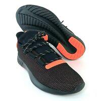 adidas Tubular Dusk Sneakers Black Infared Orange Mens Size 7 Shoes Ortholite
