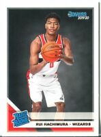 2019-20 Panini Donruss RUI HACHIMURA RC Rated Rookie - WIZARDS! ON FIRE! QTY!