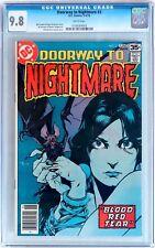 Doorway to Nightmare #3 (1978 DC) CGC 9.8 NM/MT 3rd Madame Xanadu