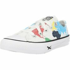 Converse Chuck Taylor All Star Geography Class Ox White/Black Canvas Junior