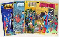 Batman + Superman: Generations - kompl. Bd 1-4 - Carlsen 1999 - neuwertig