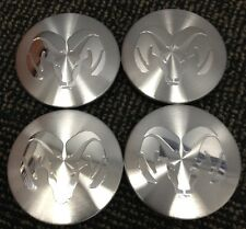 DODGE RAM DURANGO DAKOTA CENTER CAPS HUB COVERS (4) 1993-07 52005732 *READ 1ST*