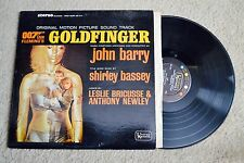 Goldfinger James Bond 007 Movie Soundtrack Sexy Record lp VG++