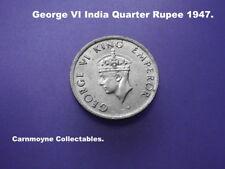George VI India Quarter Rupee 1947.AH2571.