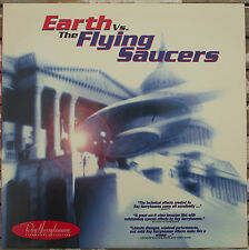 Earth Vs. the Flying Saucers Laserdisc Hugh Marlowe Ray Harryhausen 10886 B+W