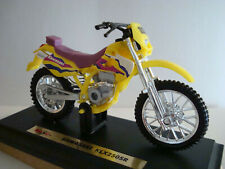 Kawasaki KLX 250 Sr Yellow Enduro 1:18 Maisto