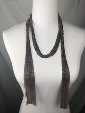 $3595 New Brunello Cucinelli Womens Necklace Copper Monili Beads Sterling 925