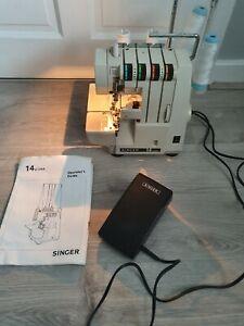 Singer Overlocker Sewing Machine 14 u134 ( Untested )