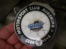 ADAC-MCA Motorsport Club Augusta-PLACCA BADGE EMBLEMA