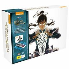 The Legend Of Korra: Complete Series Blu-ray Box Set Includes Exclusive Art Book