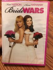 Bride Wars ~ DVD 2009 Widescreen ~ Kate Hudson & Anne Hathaway ~ Rated PG ~ NEW