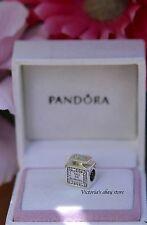 New Authentic Pandora Signature Scent Eau De Pandora Charm 791889CZ