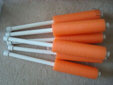 Catfish Noodle Jugs ORANGE  Weighted   lot of 6