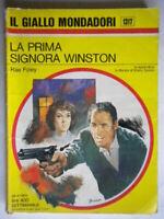 La prima signora WinstonFoley Mondadoriromanzogiallo1317 rhodaValerie Tate
