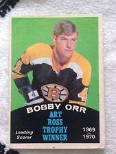 1970-71 O-Pee-Chee Bobby Orr Boston Bruins Art Ross #249