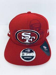 RARE San Francisco SF 49ers New Era 9FIFTY Snapback Cap Hat Joe Montana #16