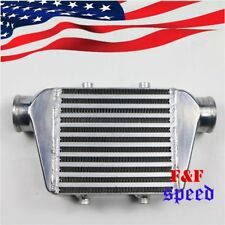 """14x8x2.5 2.5"""" Inlet & Outlet  Universal Bar&Plate Front Mount Turbo Intercooler"""