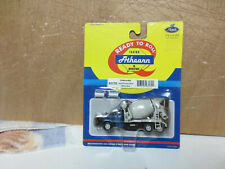 Athearn HO Scale 93170 Undecorated Mack B Cement Mixer Metallic Blue New on Card