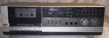 New listing Vintage Sharp Rt-310 (S) Stereo Cassette Tape Component ~Works~
