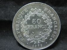 "Silbermünze 900er - Frankreich 50 Francs 1979 ""Herkulesgruppe"" VZ   6M5950"