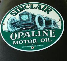 Sinclair Opaline Gas Oil gasoline sign