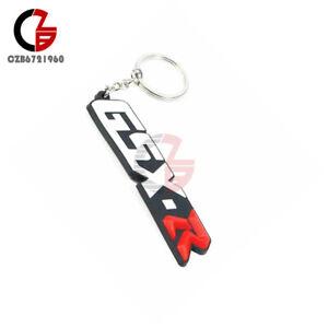 3D Soft Rubber Motorcycle Key Chain Ring Keyfob For Suzuki GSXR 600 750 1000
