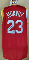 Calvin Murphy Autographed Houston Rockets - Custom Made Jersey - DAC Auto COA