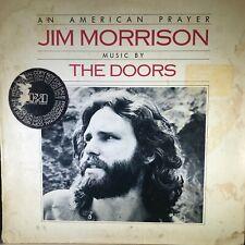 Jim Morrison / The Doors – An American Prayer - Elektra - 1978 - PROMO Vinyl LP