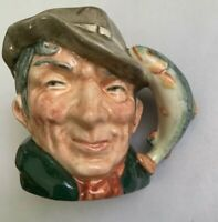 Royal Doulton Mini Character Toby Jug The Poacher