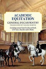 Academic Equitation: A Training System Based on the Methods of D'Aure, Baucher a