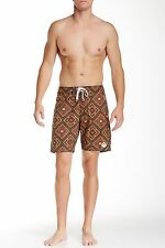 VOLCOM BARBARY BOARD SHORTS BRONZE TRUNKS SWIMMING MENS SIZE 30 NEW WITH TAGS