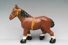 CRESCENT TOYS DIECAST METAL FARM SERIES - SHIRE HORSE ~ Very Fine Example...!!