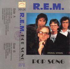 """R.E.M. """"POP SONG"""" RARE UN-OFFICIAL ITALIAN CASSETTE / GREEN WORLD TOUR 89 STIPES"""
