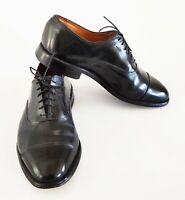 Allen Edmonds Park Avenue Black Leather Cap Toe Oxfords Shoes Size 9 EEE 3E USA