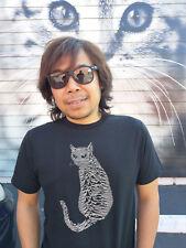 JOY CAT (Joy Division Unknown Pleasures) T-Shirt size Large Post Punk
