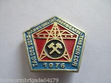 DDR Abz. Tag des Bergmanns  1976