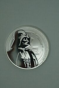 NIUE 1 OZ SILVER STAR WARS DARTH VADER COINS 25 COINS UNCIRCULATED