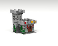 LEGO modular instruction MOC : Medieval Guard Tower