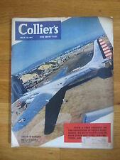 Collier's July 1941 J D Salinger Hang of It 1st Damon Runyon r g kirk b19 bomber
