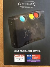 Chord Mojo Amplificatore/DAC Cuffie - Nero