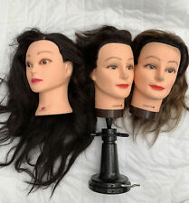 Styling Head Hair Dresser Hairdresser Model Hair x 3 bundle