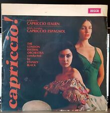 Stanley Black, London Festival - Capriccio Italien + Espagnol - Decca LP mono